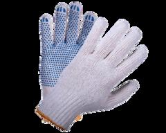 Перчатки Doloni 667 трикотажные с ПВХ