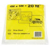 Плёнка защитная малярная (4х5м) 20м ГАП, 7мкрн