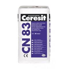 Быстротвердеющая ремонтная смесь 5-35 мм Ceresit CN83 25кг