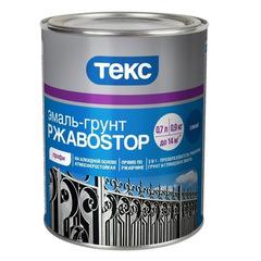 Эмаль-грунт ТЕКС РЖАВОСТОП 3 в 1 синяя 2кг