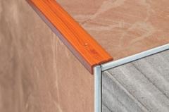 Профиль для плитки угол 25х25, 2,7м