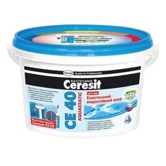 Затирка для швов Ceresit СЕ40  черная 2кг