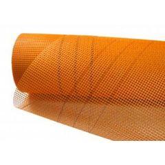 Сетка 5*5 стеклотканевая N 165г/кв.м 50м2 оранж