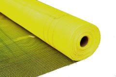 Сетка фасадная A-160 4*4мм стеклотканевая желтая 50м2