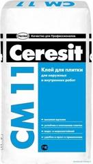 Клей для керамической плитки Ceresit СМ11 25кг