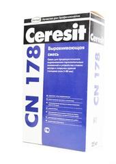 Легковыравнивающая стяжка 15-50 мм Ceresit CN178 25 кг