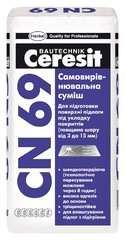 Самовыравнивающаяся смесь Ceresit CN 69 25 кг