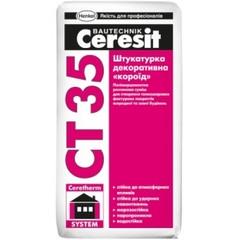 Штукатурка декоративная структурная Ceresit СТ36 25кг