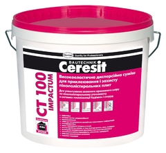 Высокоэластичная смесь для приклеивания и защиты ППС Ceresit CT100 Impactum 25 кг
