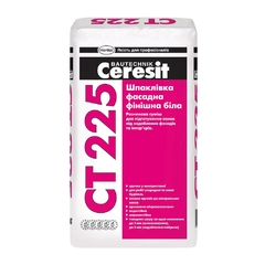 Шпаклевка фасадная финишная белая Ceresit СТ225 25кг