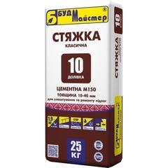 Стяжка для пола цементная Доливка-10 М-150 25 кг