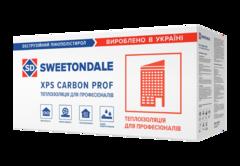 Экструдированный пенополистирол Sweetondale CARBON PF (Г1) 1180х580х50мм