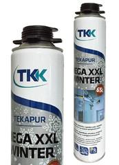 Пена монтажная TKK Tekapur Mega XXL Зима 850мл