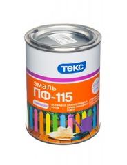 Эмаль ТЕКС ПФ-115 коричневая 0,9кг