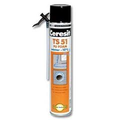 Пена монтажная Ceresit TS51 Стандарт всесезонная 750мл