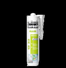 Герметик cиликоновый для стекла Ceresit CS23 CSGTR белый 280мл