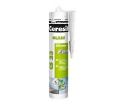 Герметик силиконовый Ceresit CS 23 для стекла прозрачный 280 мл