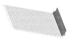 Профиль примыкающий со стеклосеткой для оконных и дверных блоков (6мм х 2,4м) Ceresit СТ340 A03 (20шт)