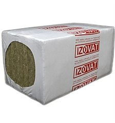 Минеральная вата IZOVAT 125 (1000х600х50мм) 2,4м.кв.