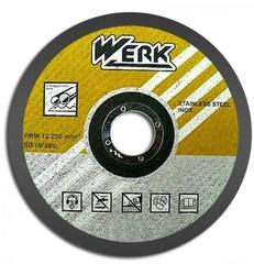 Круг отрезной по металлу Werk 125х1,2х22,22