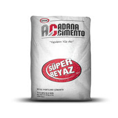 Цемент белый ADANA 25кг