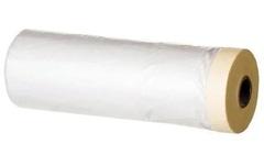 Защитная пленка с малярной лентой 450*020 желтая