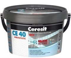 Затирка для швов Ceresit СЕ40 платина 39 Trend Collection 2кг