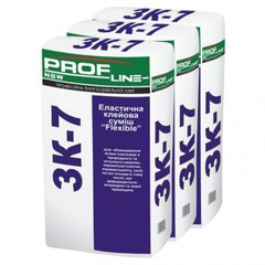 Клей для плитки Profline ЗК-7 Flexible 25кг